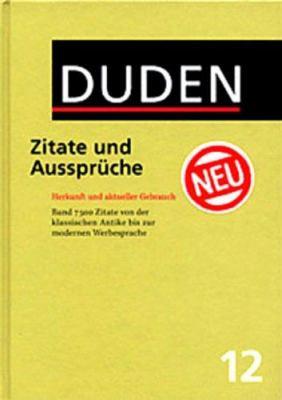 Duden Zitate Und Ausspruche 9783411041220
