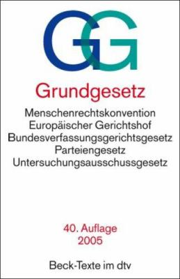 Grundgesetz 9783423050036
