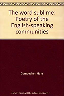 The word sublime: Poetry of the English-speaking communities