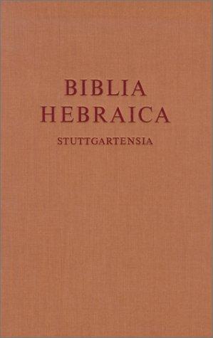 Biblia Hebraica Stuttgartensia-FL 9783438052186