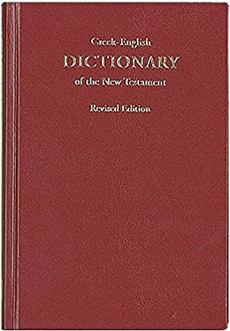 Greek-English Dictionary of the New Testament 9783438060198