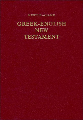 Greek-English New Testament-PR-FL-Nestle-Aland/RSV 9783438054081