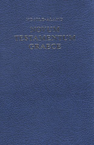 Greek New Testament-FL-Nestle-Aland-Large Print 9783438051035