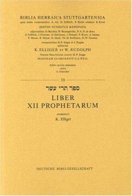 Hebrew 12 Prophets-FL 9783438052100