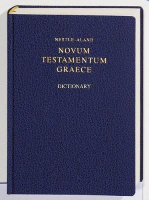 Nestle Aland with Concise English-Greek Dictionary-FL 9783438051158