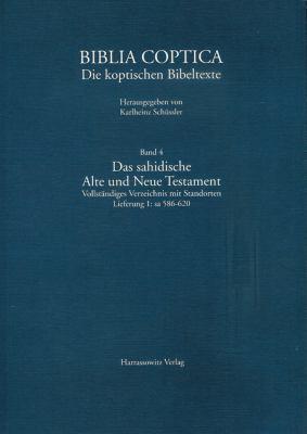 Die Sahidische Alte Und Neue Testament, Lieferung 2: Sa 621-672 9783447060516