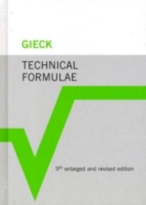 Technical Formulae 9783446420298