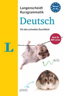 Langenscheidt Kurzgrammatik Deutsch (German Edition)