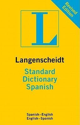 Langenscheidt Standard Dictionary: Spanish 9783468980510