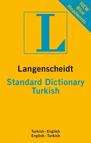 New Standard Turkish Dictionary 9783468980633