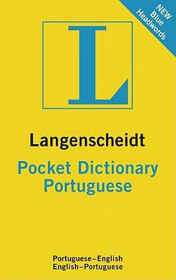 Langenscheidt Pocket Portuguese Dictionary 9783468980749