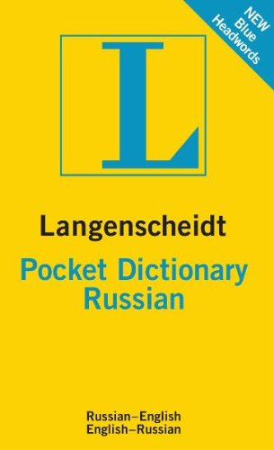 Langenscheidt Pocket Dictionary: Russian 9783468981388
