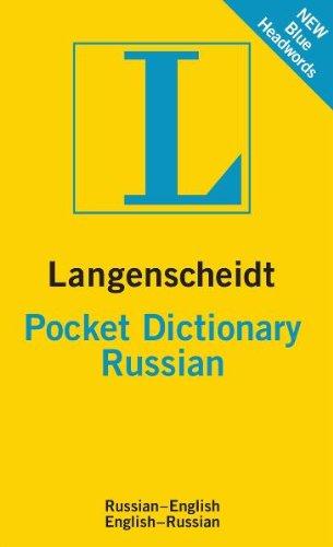 Langenscheidt Pocket Dictionary: Russian