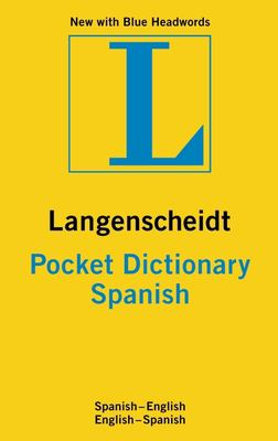 Langenscheidt Pocket Dictionary: Spanish 9783468981395