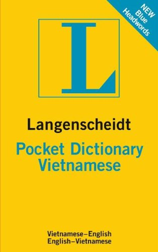 Langenscheidt Pocket Dictionary: Vietnamese 9783468981401