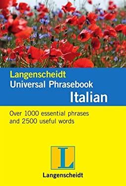 Langenscheidt Universal-Phrasebook Italian 9783468989865
