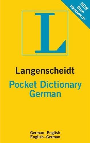 Langenscheidt Pocket Dictionary: German