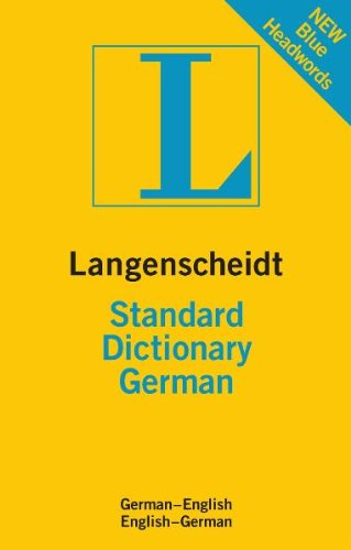 Langenscheidt Standard Dictionary: German 9783468980466