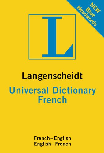 Langenscheidt Universal Dictionary: French 9783468981944