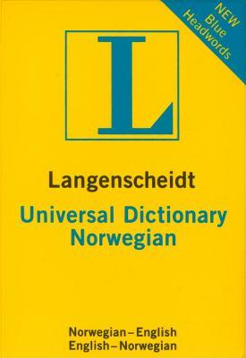 Langenscheidt Universal Norwegian Dictionary 9783468981814