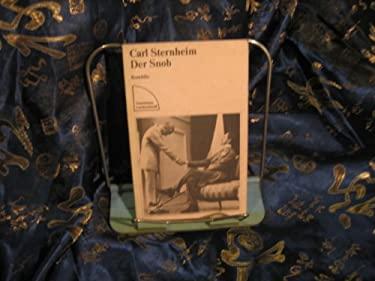 Der Snob (German Edition) - Sternheim