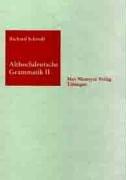 Althochdeutsche Grammatik II: Syntax 9783484108622