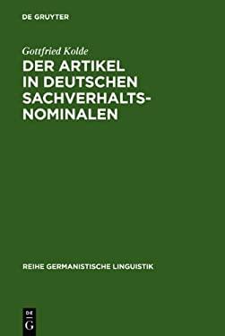 Der Artikel in Deutschen Sachverhaltsnominalen 9783484310964