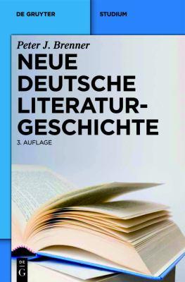 Neue Deutsche Literaturgeschichte: Vom Ackermann Zu G Nter Grass 9783484108974