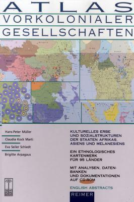 Atlas Vorkolonialer Gesellschaften 9783496026761