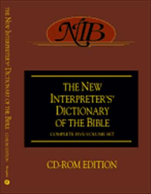 The New Interpreter's Dictionary of the Bible: CD-ROM Edition