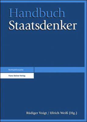 Handbuch Staatsdenker 9783515099349