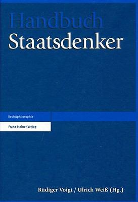Handbuch Staatsdenker 9783515095112