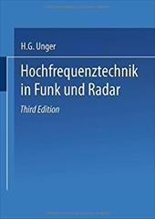 Hochfrequenztechnik in Funk Und Radar - Hans-George Unger