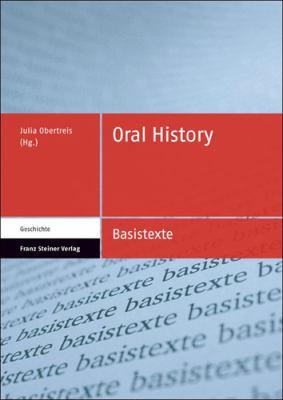 Oral History 9783515093071