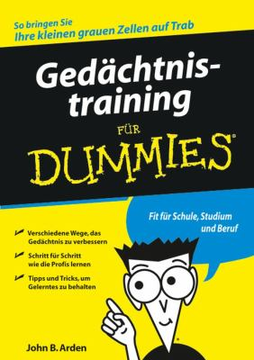 Gedachtnistraining Fur Dummies 9783527703135