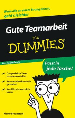 Gute Teamarbeit Fur Dummies Das Pocketbuch 9783527704620