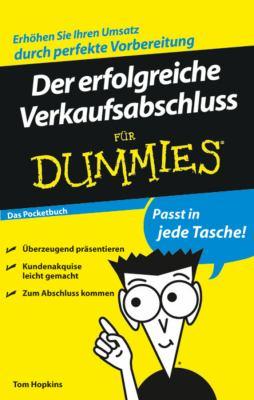 Der Erfolgreiche Verkaufsabschluss Fur Dummies Das Pocketbuch 9783527704637