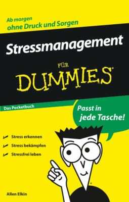 Stressmanagement Fur Dummies Das Pocketbuch 9783527704675