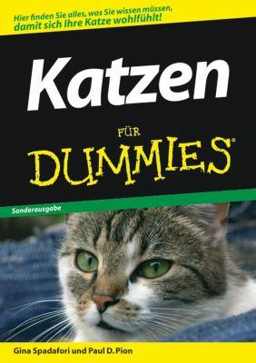 Katzen fur Dummies 9783527704842