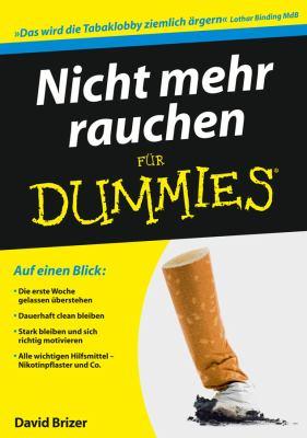 Nicht Mehr Rauchen Fur Dummies 9783527705412