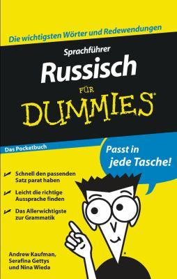 Sprachfuhrer Russisch Fur Dummies Das Pocketbuch 9783527705801