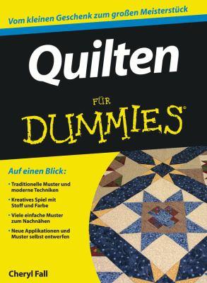 Quilten Fur Dummies 9783527706044