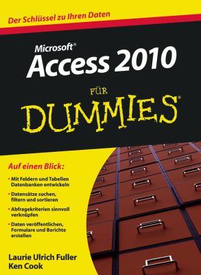 Access 2010 Fur Dummies 9783527706136