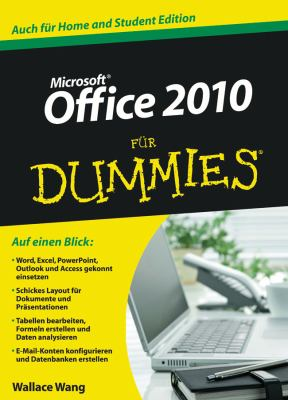 Office 2010 Fur Dummies 9783527706211