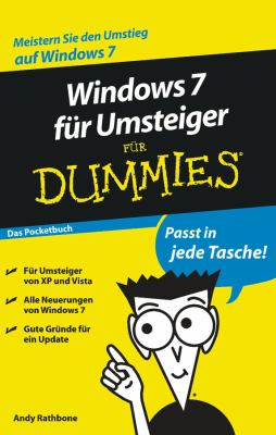 Windows 7 Fur Umsteiger Fur Dummies: Das Pocketbuch 9783527706358