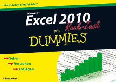 Excel 2010 Fur Dummies Ruckzuck 9783527706600