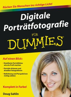 Digitale Portratfotografie Fur Dummies 9783527706662
