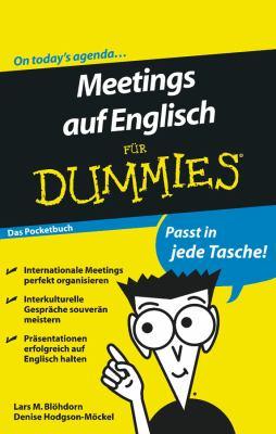 Meetings Auf Englisch Fur Dummies Das Pocketbuch 9783527707157
