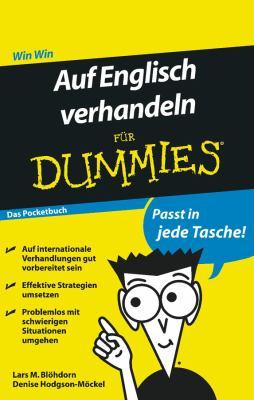 Auf Englisch Verhandeln Fur Dummies Das Pocketbuch 9783527707164