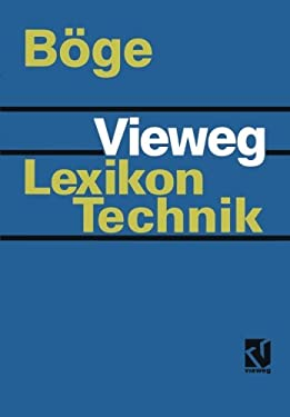 Vieweg Lexikon Technik 9783528049591